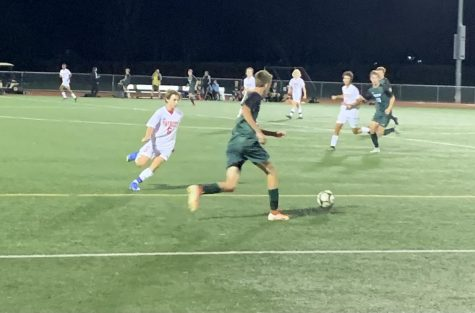 Carrolls varsity boys soccer team fought hard against Dock.