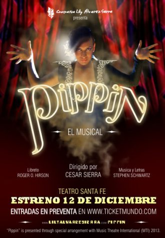 This poster advertised performances of Pippin in Venezuela.